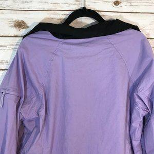 Saint John's Bay Active Jackets & Coats - SJB Active Women's Jacket Windbreaker, Purple XL